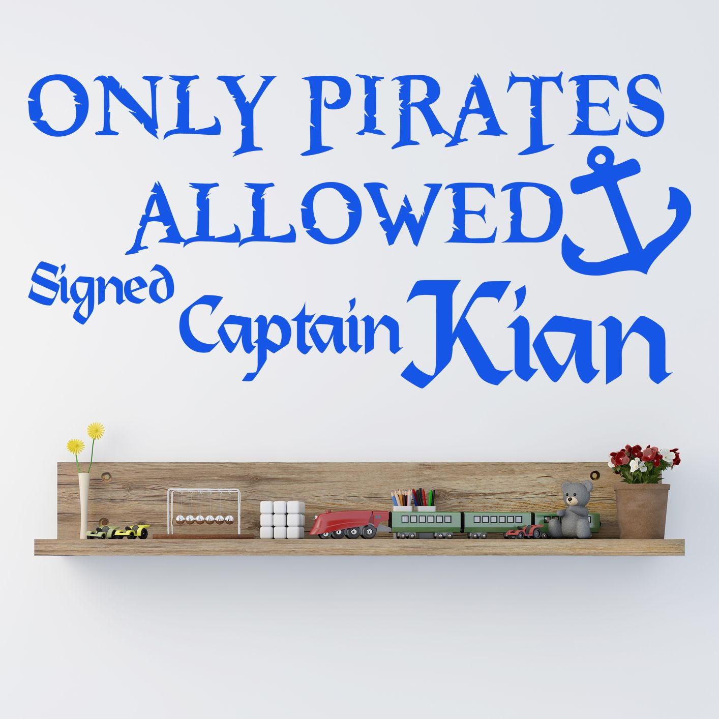 Pirates Kids Wall Decal: Ideal For Boys Bedrooms