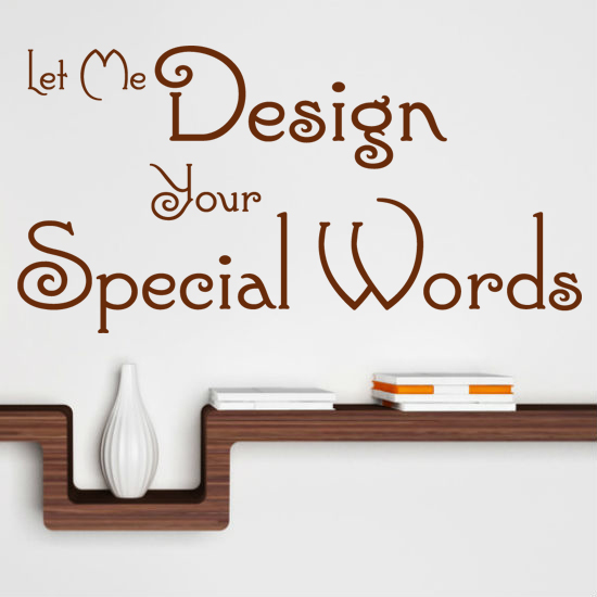 wall letters stickers