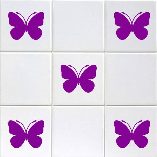 Butterfly Tile Stickers