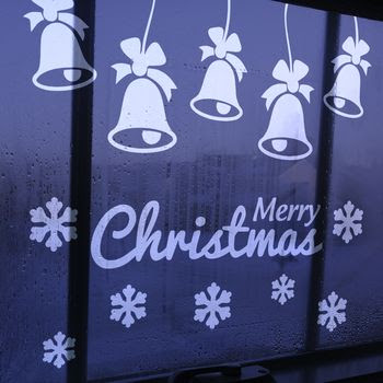 Christmas Window Sticker