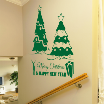Happy New Year Wall Sticker