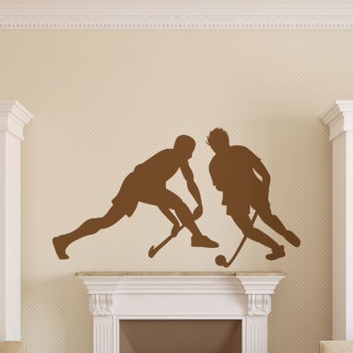 Hockey Players Wall Sticker