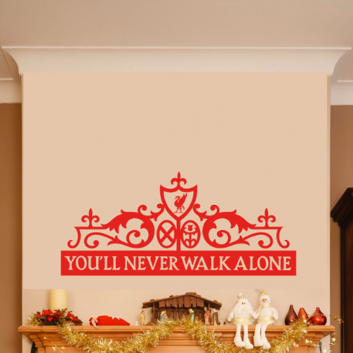 Liverpool You'll Never Walk Alone Wall Sticker