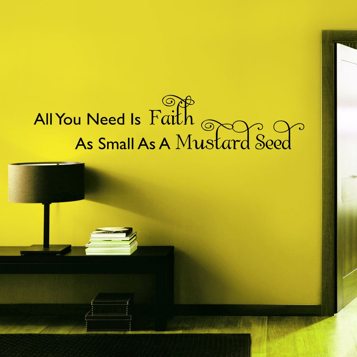 Mustard Seed Faith | Inspirational Wall Quote