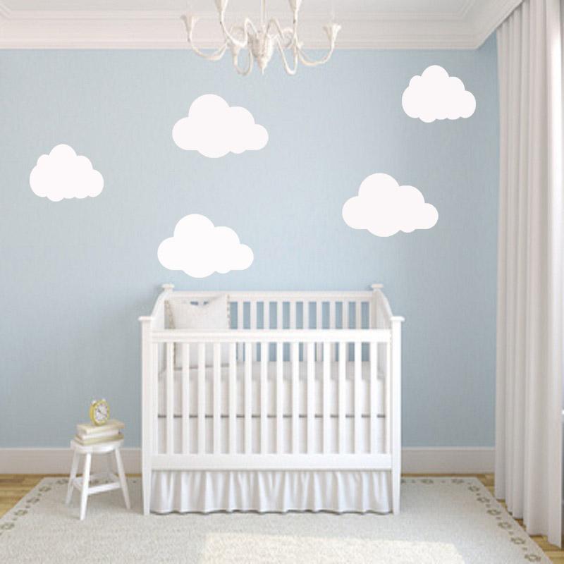 nursery cloud wall stickers