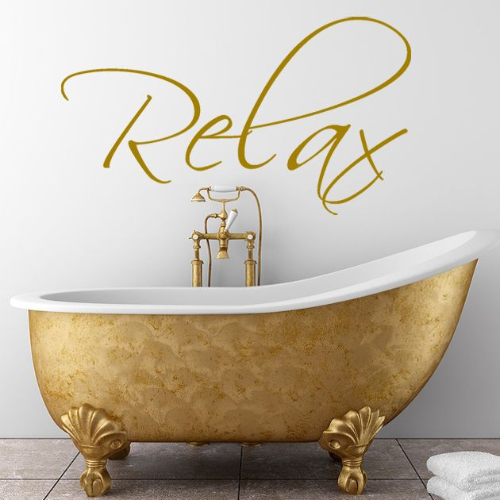 Relax Wall Sticker | Relax Wall Decal