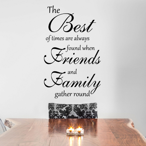 the best of times wall sticker