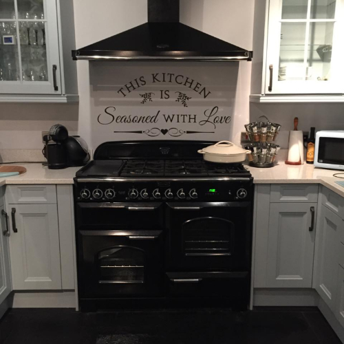 This Kitchen Is Seasoned With Love Wall Sticker